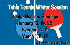 Table Tennis Registration Open Now!
